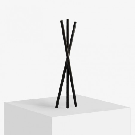 Black 3 layer paper straws