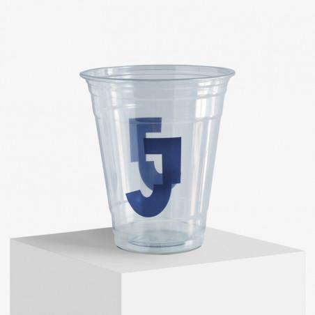 Custom printed plastic cups
