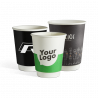 Large selection of BIO+FSC double wall paper cups
