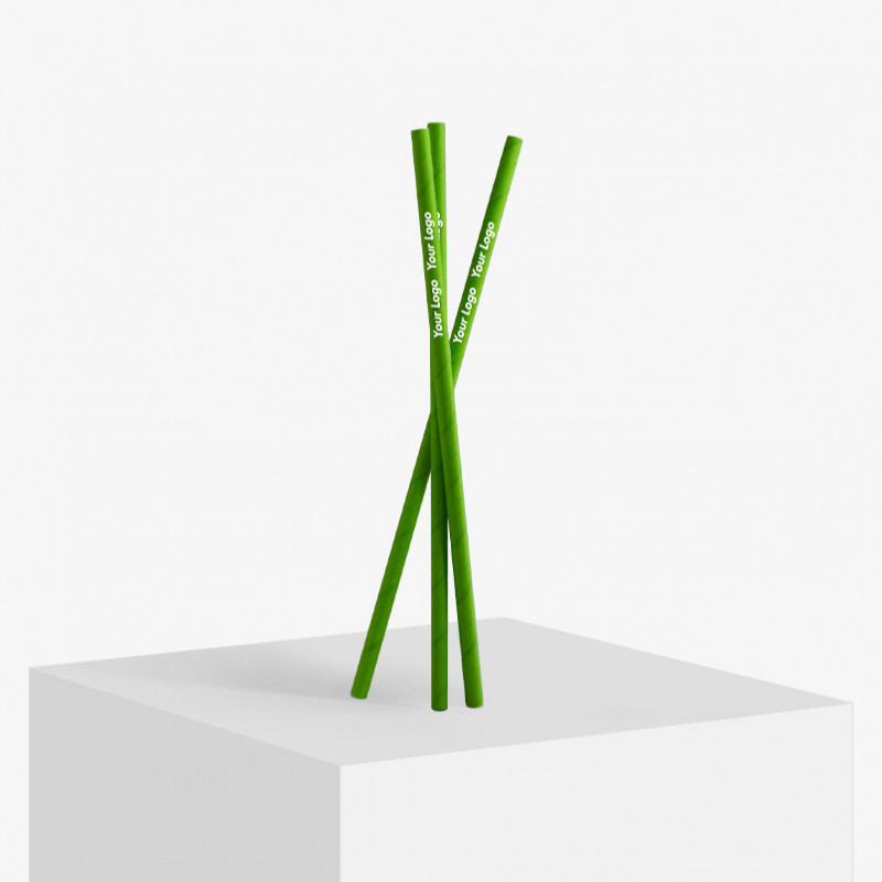 Wholesale paper straws with logo