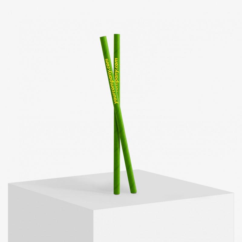 Custom printed bubble tea paper straws