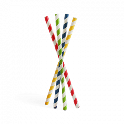 Wholesale 3-layer Smoothie Paper Straws