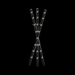 Digital printed paper straws