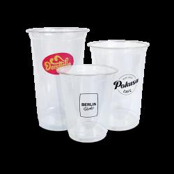 Custom pad printed plastic cups