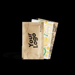 Custom printed wet wipes 60x100 mm